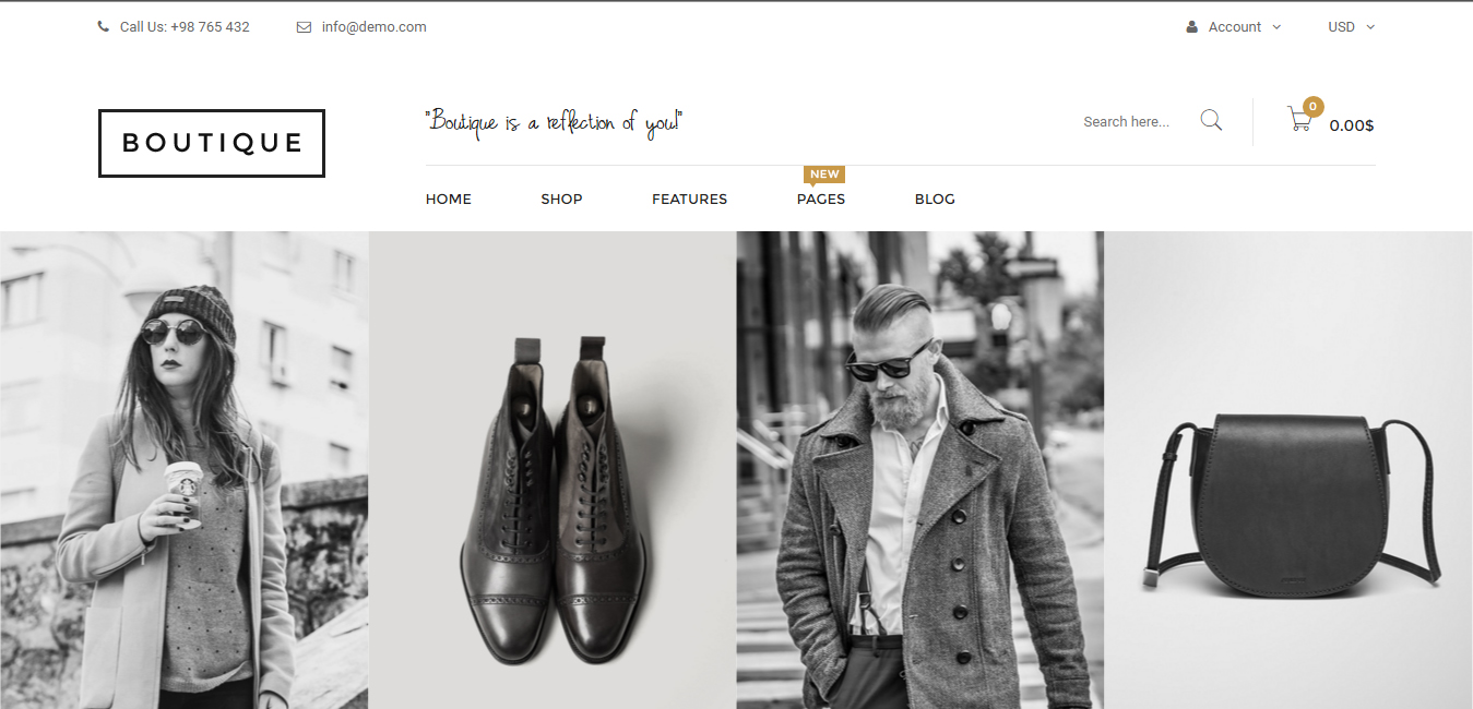 Boutique - Responsive WooCommerce WP Theme