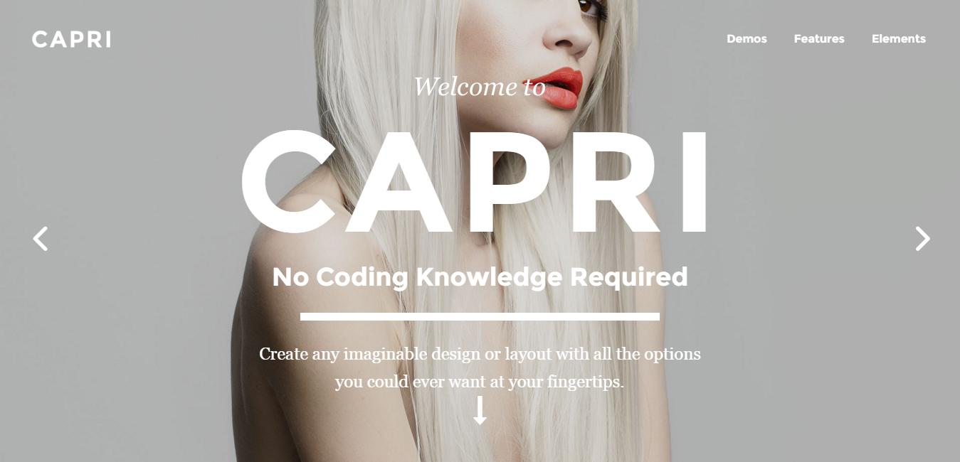 Capri - Feminine WordPress Themes