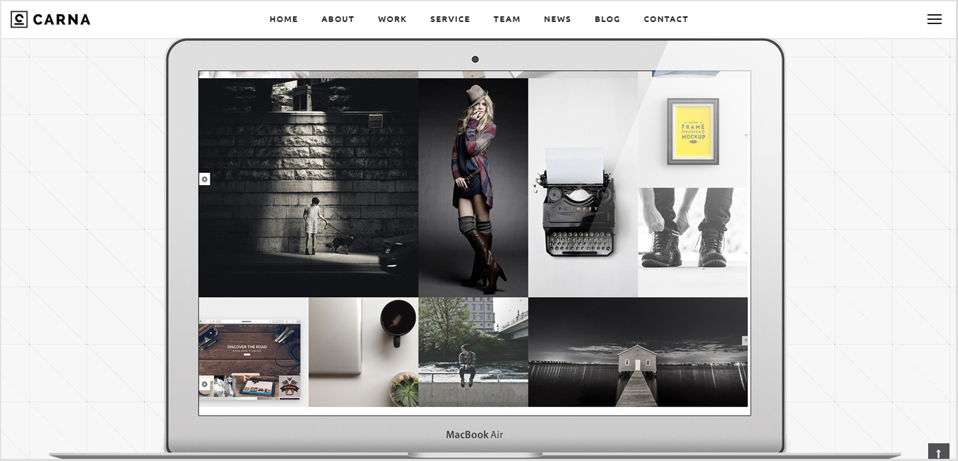 Carna - Responsive Multi-Purpose WordPress Theme