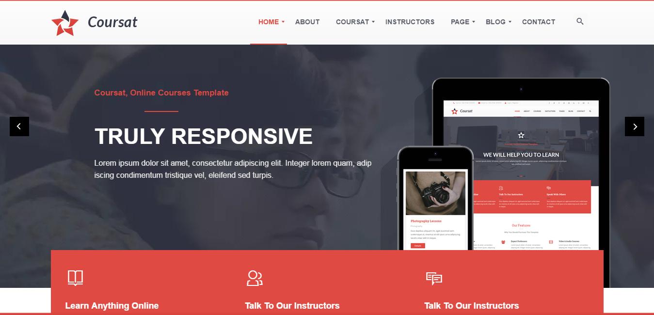 Coursat - Multipurpose Education WordPress Theme