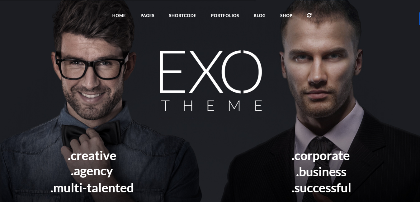 EXO - Corporate Specific Purpose Theme