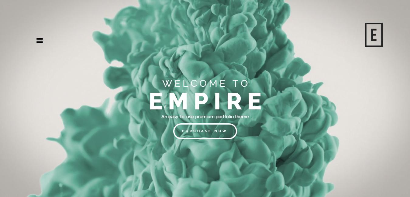 Empire - Premium Fullscreen Portfolio Theme