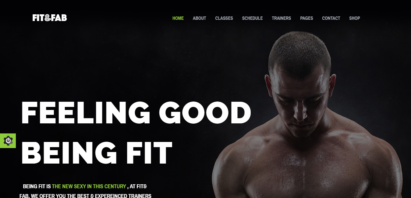 Fit & Fab - Gym and Fitness WordPress Theme