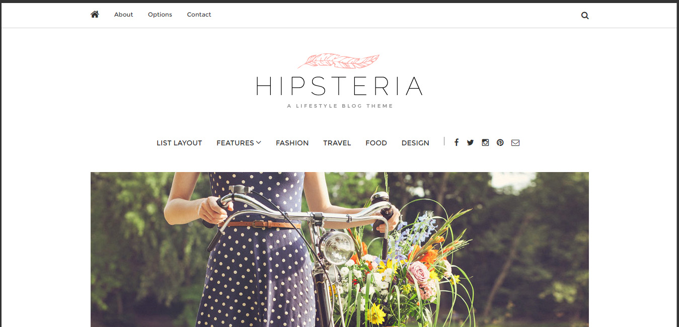 Hipsteria - Fashion & Lifestyle WordPress Blog Theme