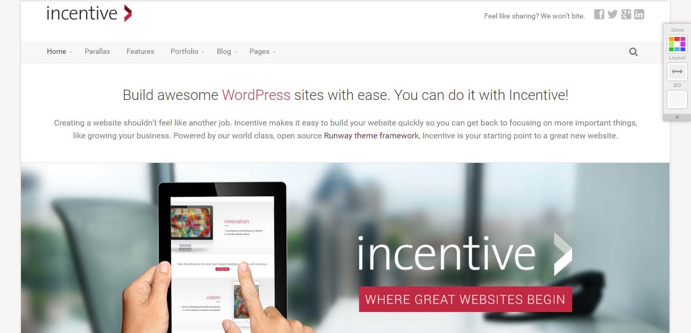 Incentive - Responsive All-Purpose Theme