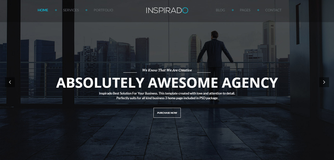 Inspirado - Multi-Purpose Elegant WP Theme