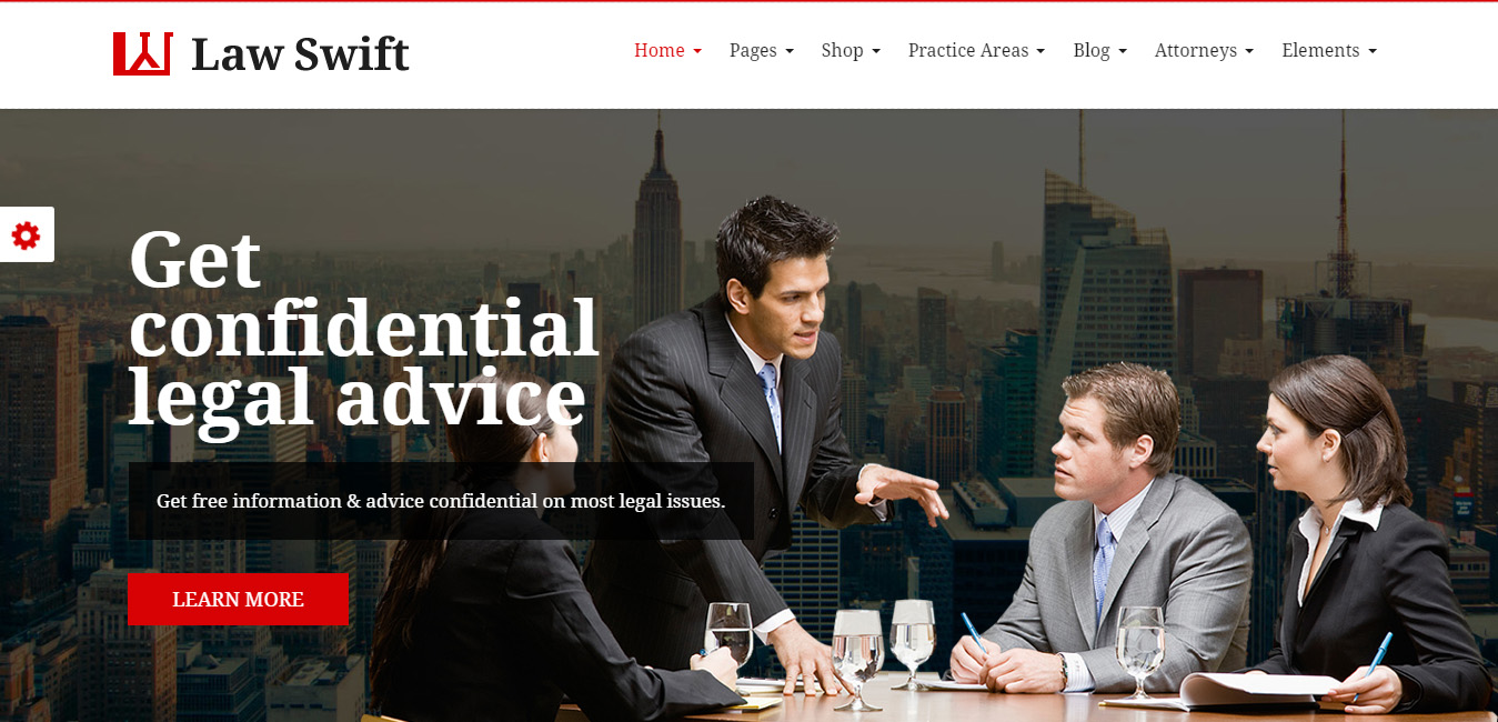 LawSwift - Attorney Business WP Theme