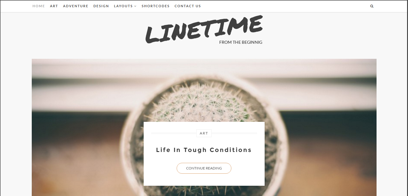 LineTime - Modern WordPress Blog Theme