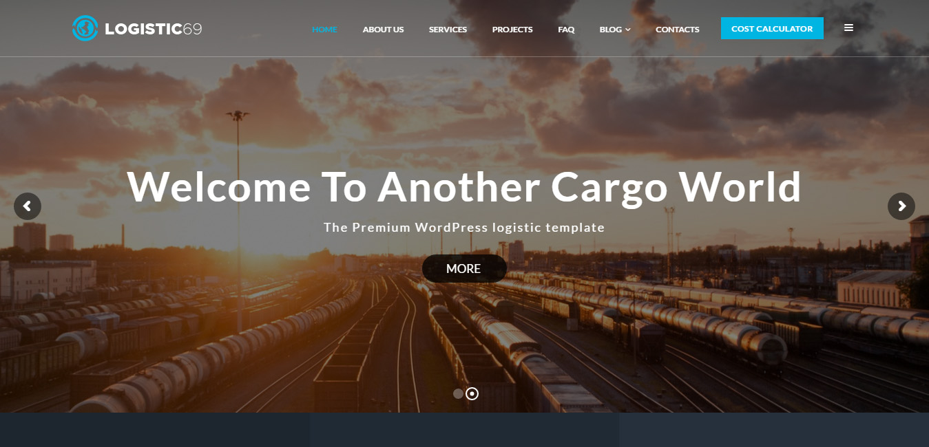 Logistic69 - Logistics & Transportation WP Theme