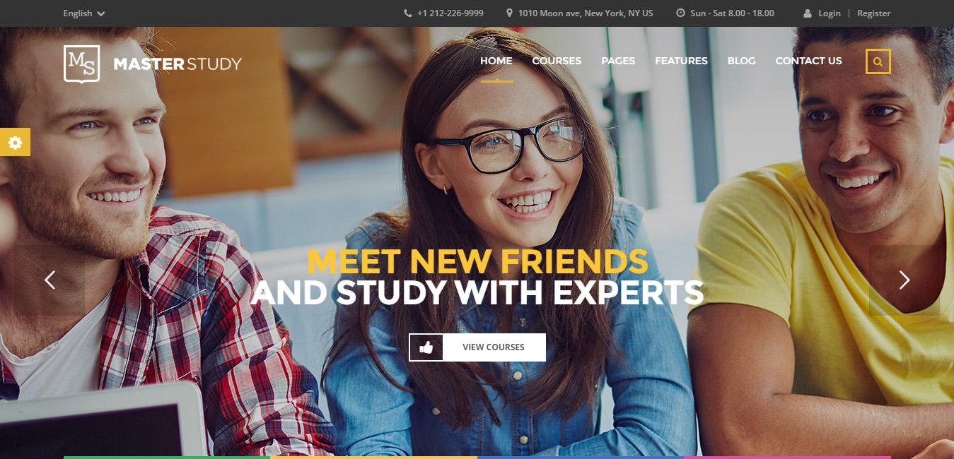 Masterstudy - Education Center WordPress Theme