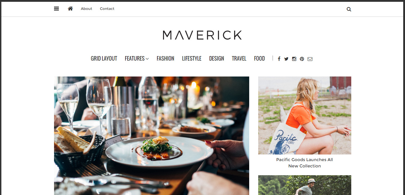 Maverick - WordPress Blog Magazine Theme