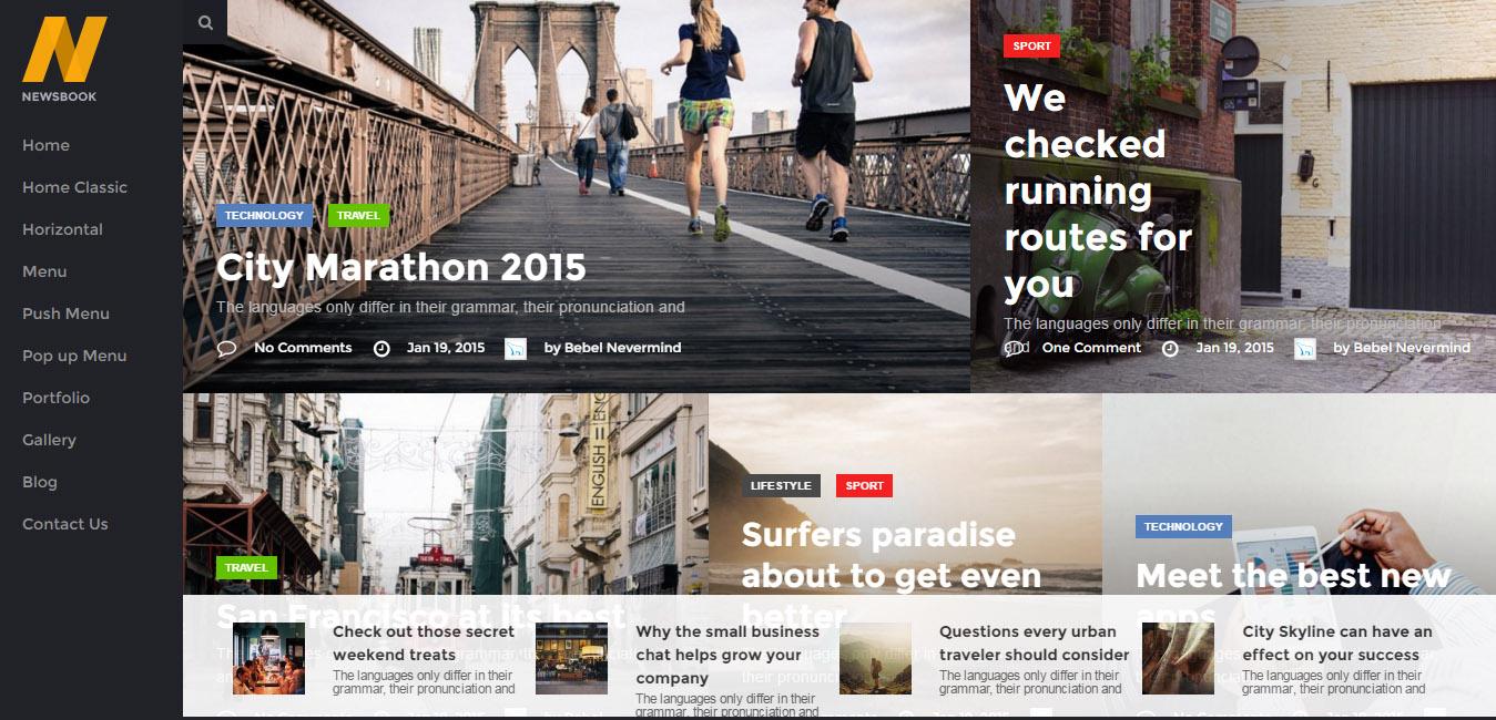 NewsBook - Magazine, Blog & News Theme
