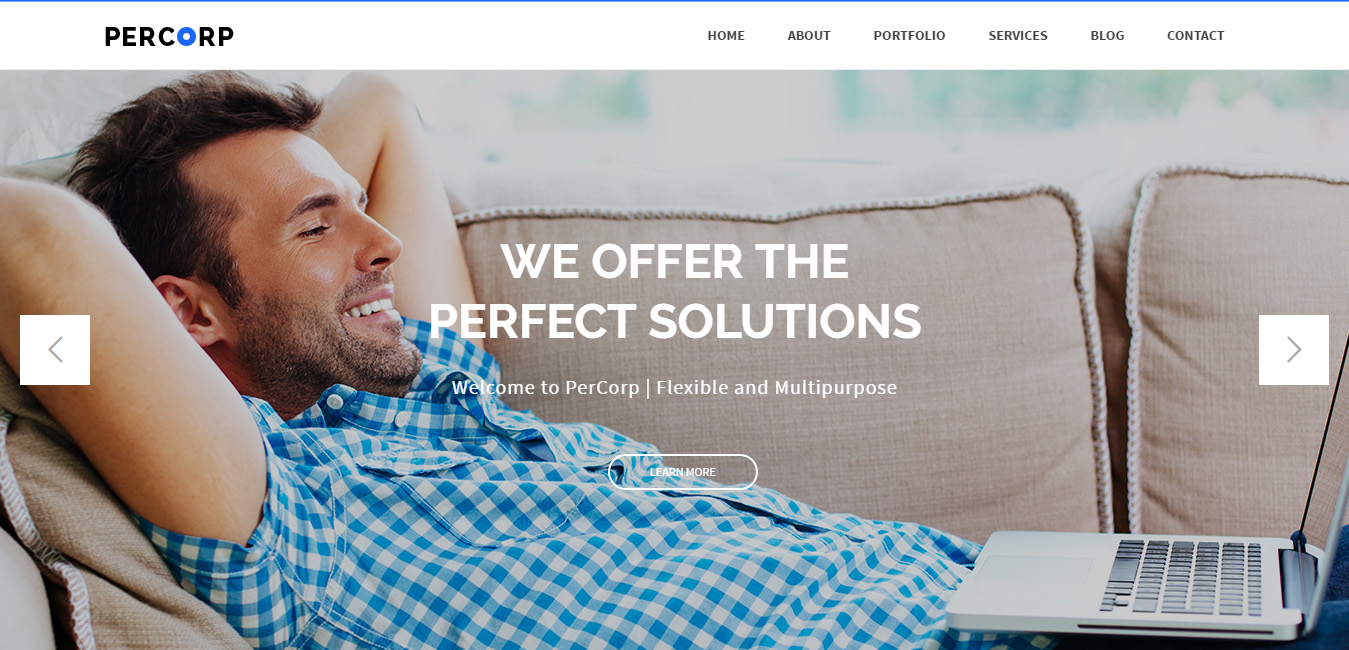 PerCorp - Multi-Purpose WordPress Theme