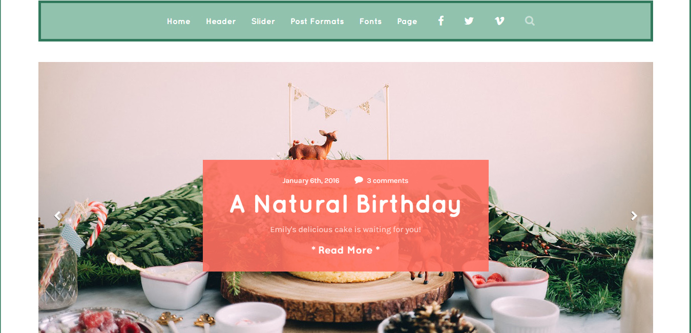 Robin - Cute & Colorful Blog Theme