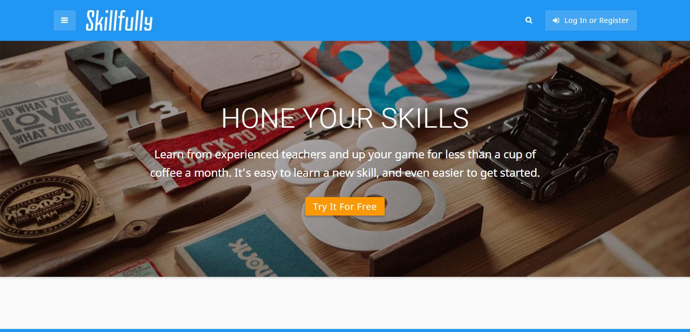 Skillfully - Teachers WordPress Themes