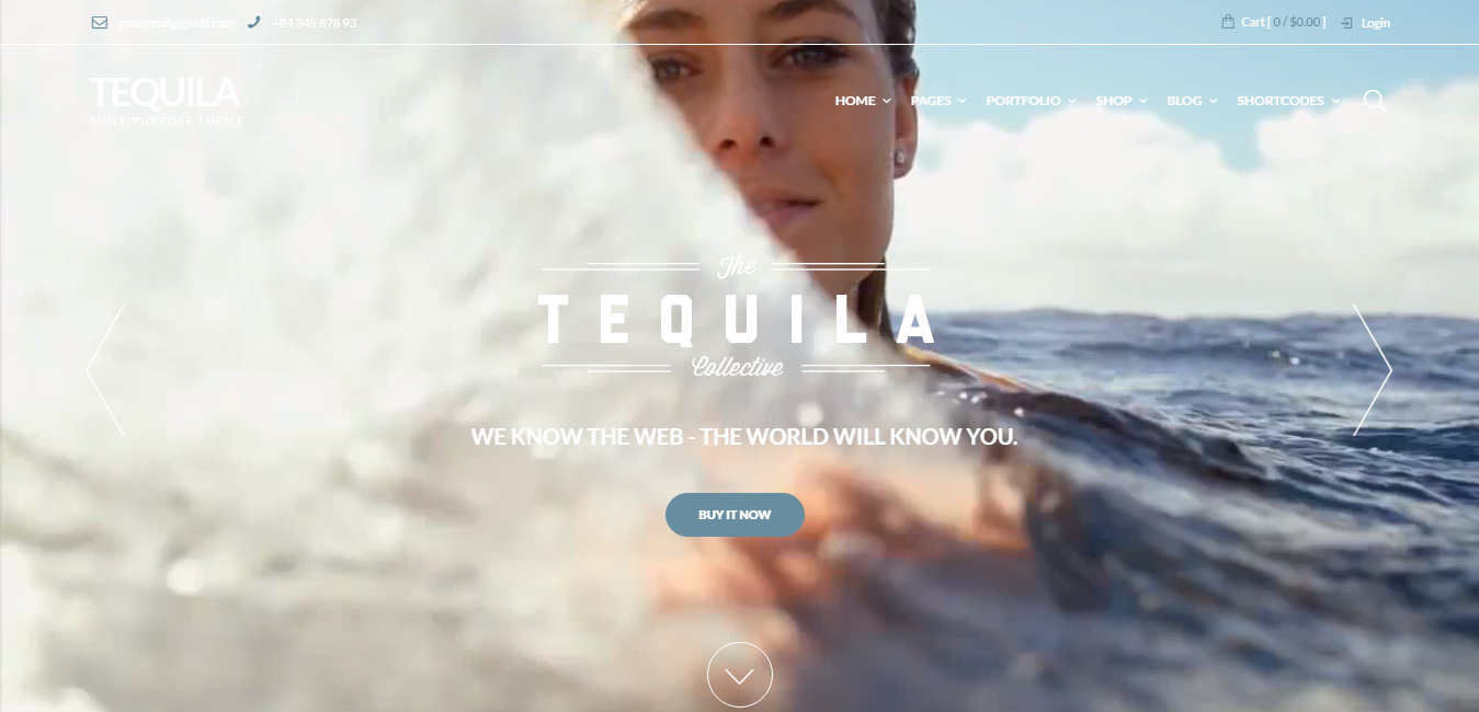 Tequila - Multi-Purpose WooCommerce Theme