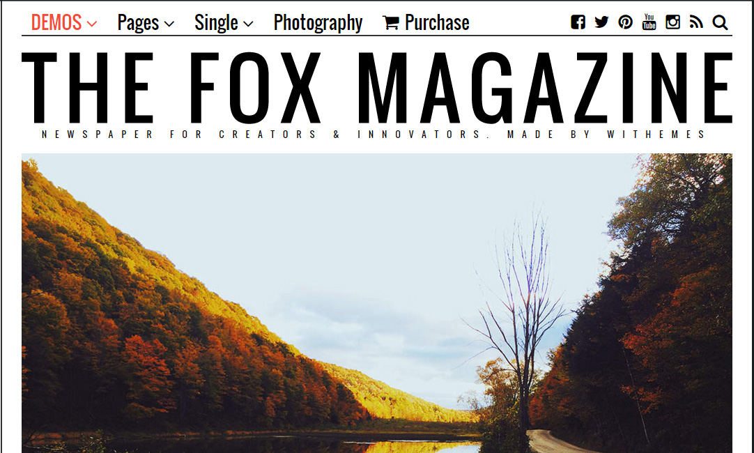 The Fox - Contemporary Magazine Theme