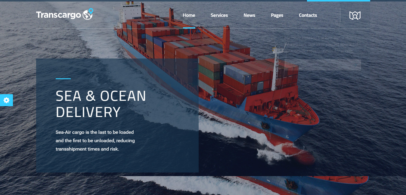 Transcargo - Logistics & Transportation WP Theme