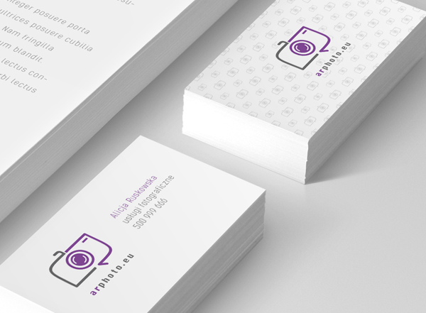 AR Photo Business Card