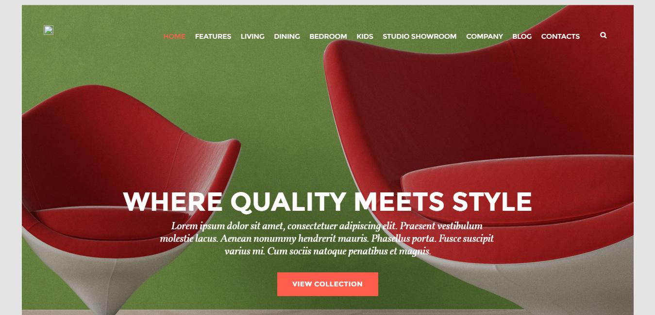 Abraham's - Furniture Store WordPress Themes
