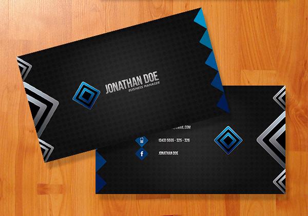 Double Diamond Business Card