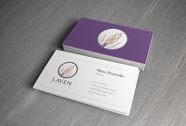 Laven Decor Minimalistic Business Card