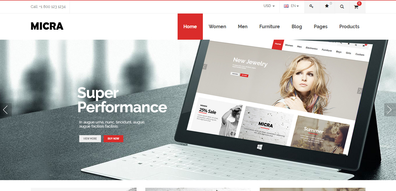Micra - Multi Layout WordPress Themes