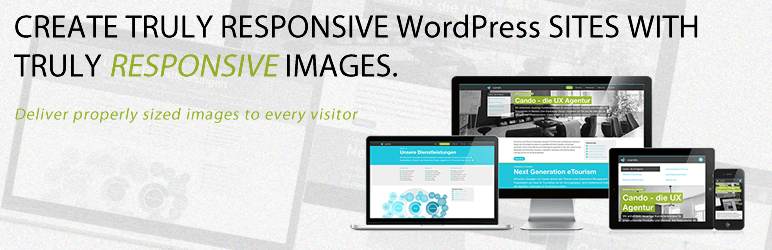 Responsive Images by Pixtulate - WordPress image optimization plugins