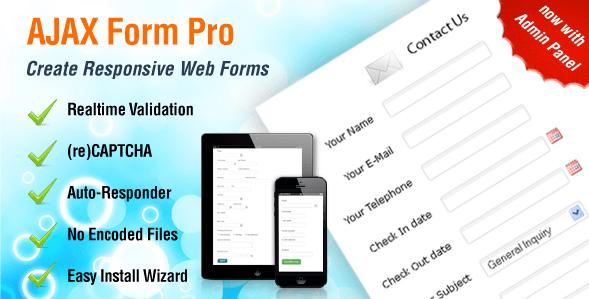 AJAX Responsive Web Forms