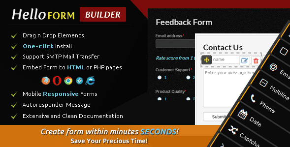 Hello Form Builder - Contact Form