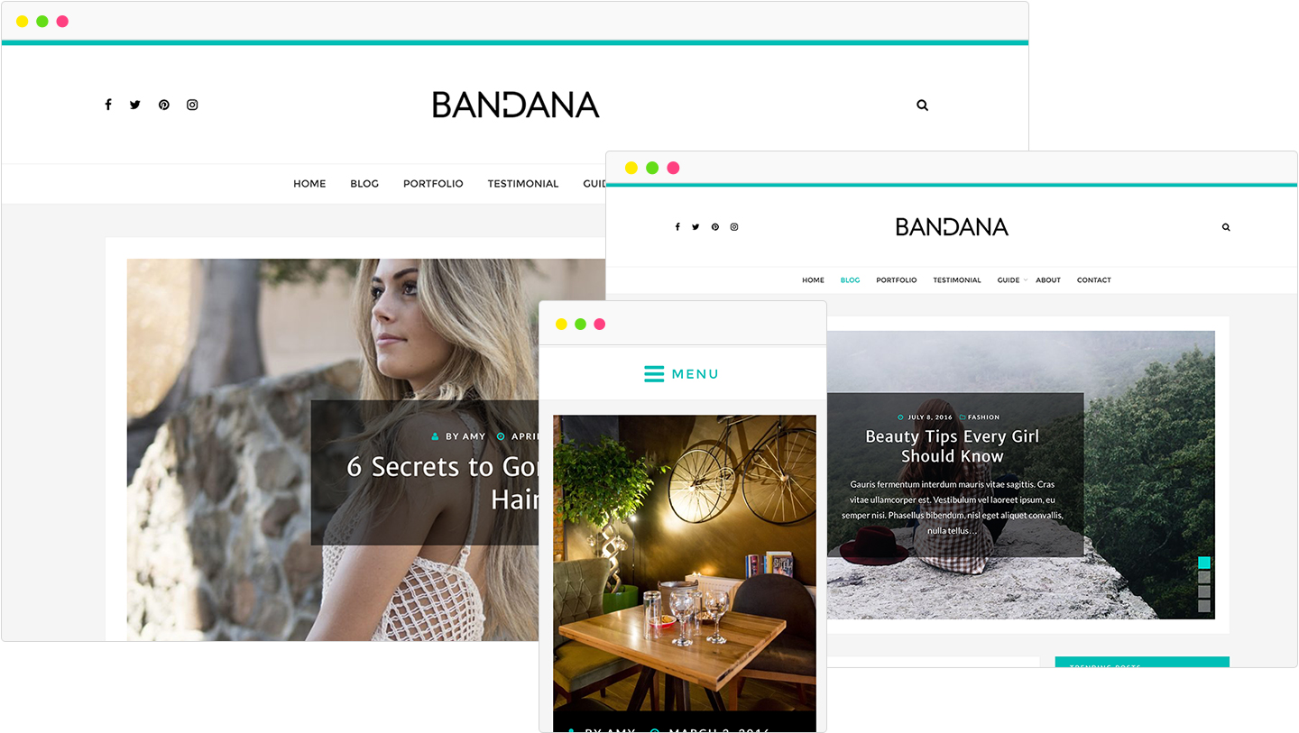 bandana-portfolio-wordpress-theme-showcase