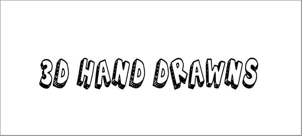 3d-hand-drawns