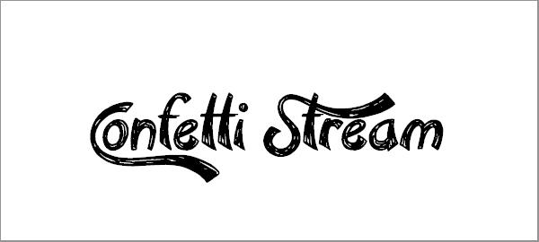 confetti-stream-font