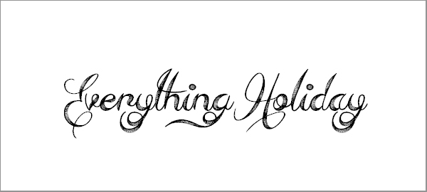 everything-holiday-font