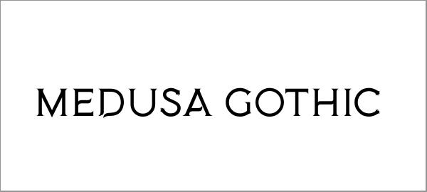 medusa-gothic-font