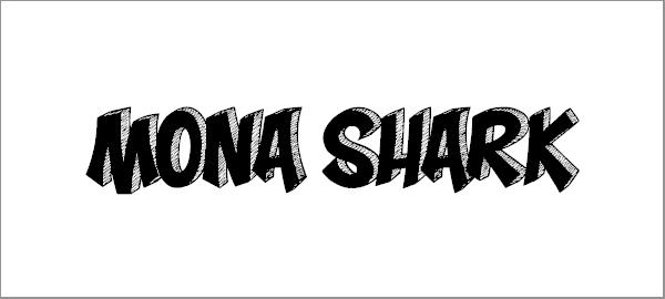 mona-shark-font