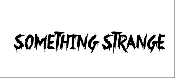 something-strange-font