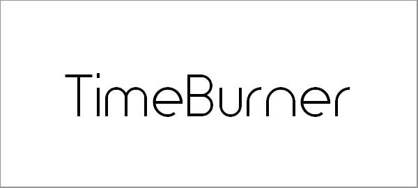 timeburner-font