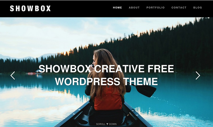 ShowBox free WordPress theme
