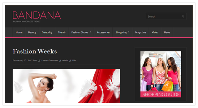 Bandana Free WordPress Theme