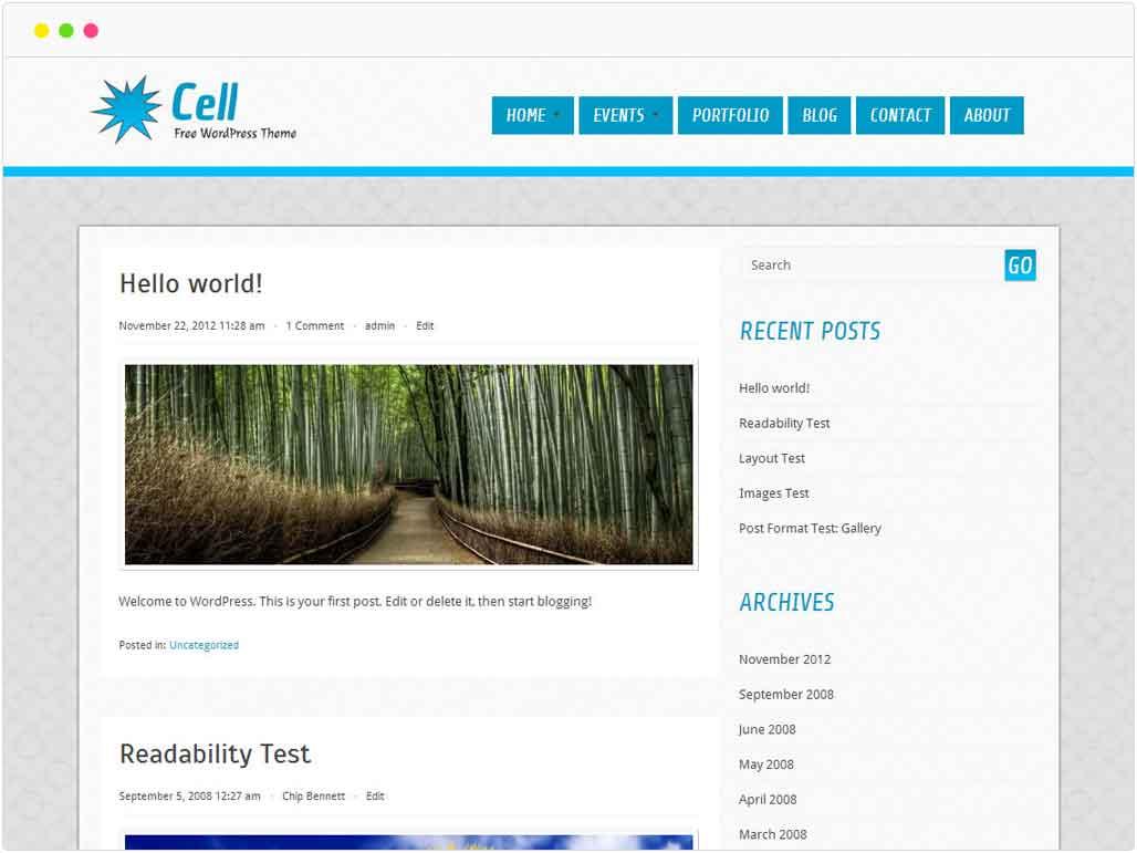 cell-free-wordpress-theme-showcase