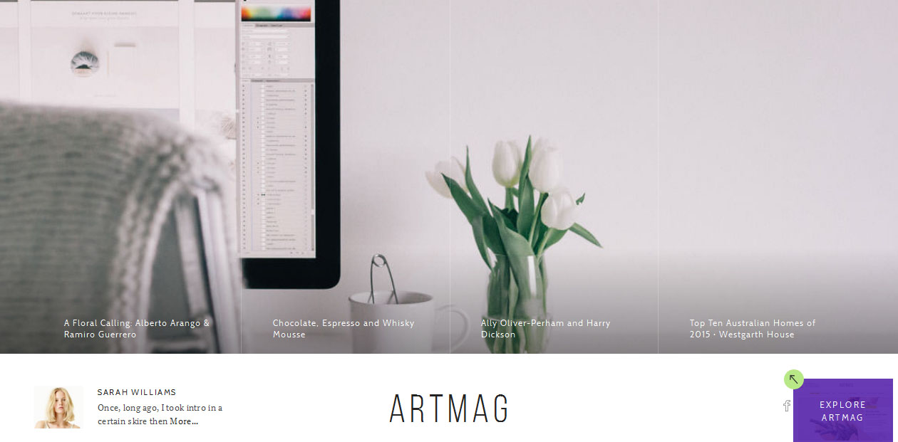 Artmag - WordPress Magazine Themes
