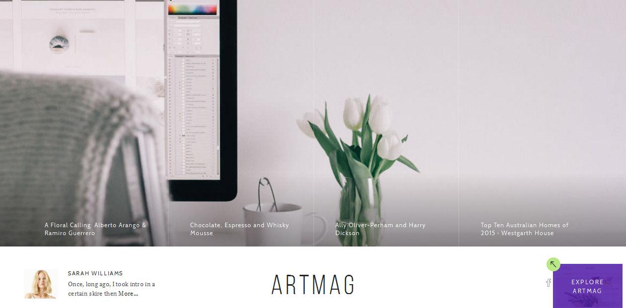 Artmag - WordPress Magazine Themes