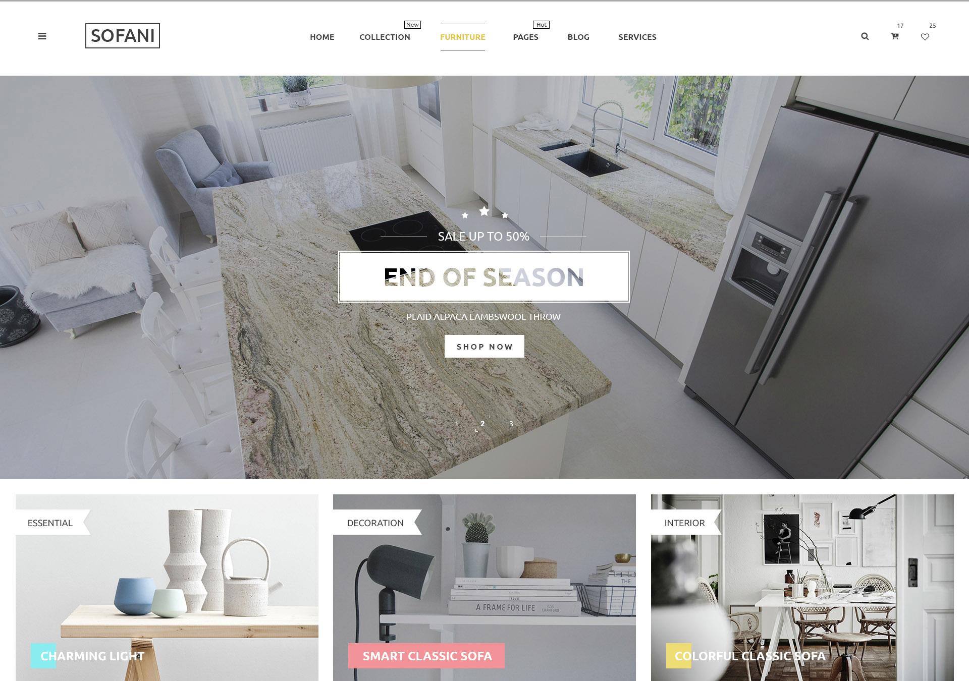 10 new best psd website templates designorbital. Black Bedroom Furniture Sets. Home Design Ideas