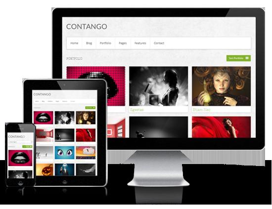 Contango Responsive WordPress Theme