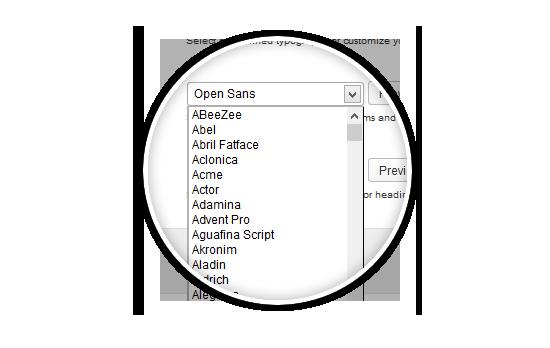 Contango Google Web Fonts