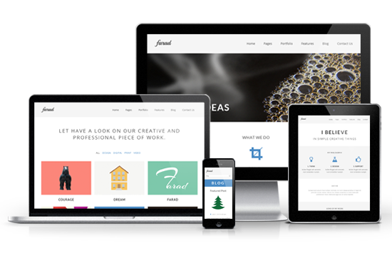 Farad Responsive Premium WordPress Theme