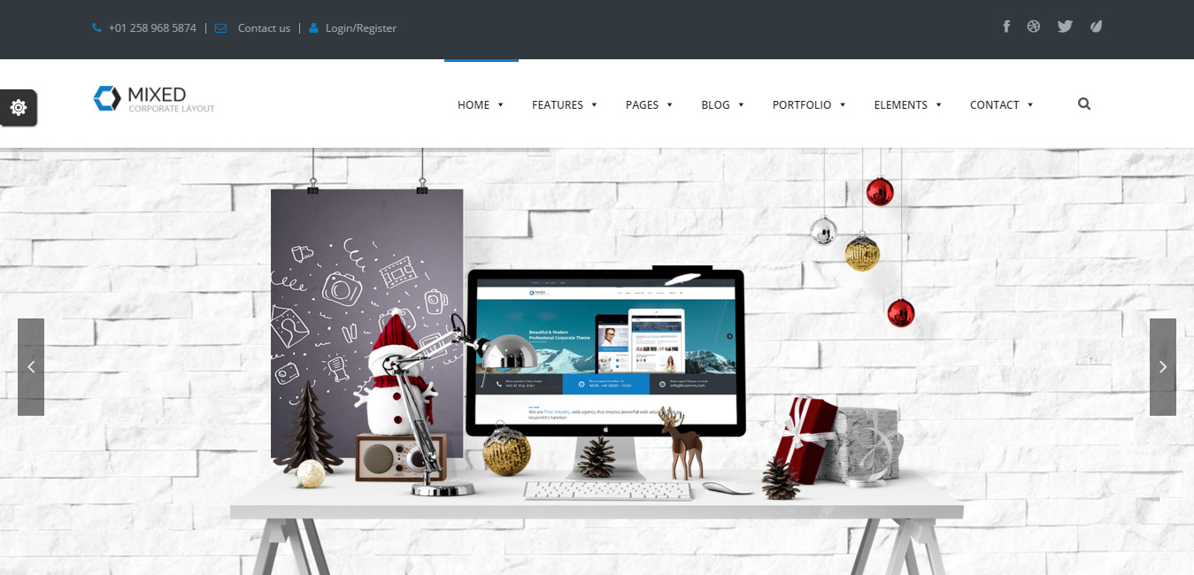 6 Best Contemporary WordPress Themes - DesignOrbital