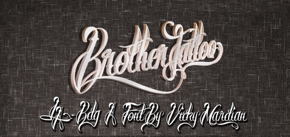 35 best free tattoo fonts collection designorbital